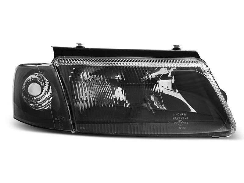 Lampy Przednie Vw Passat B5 3b 1196 0800 Black Halogen